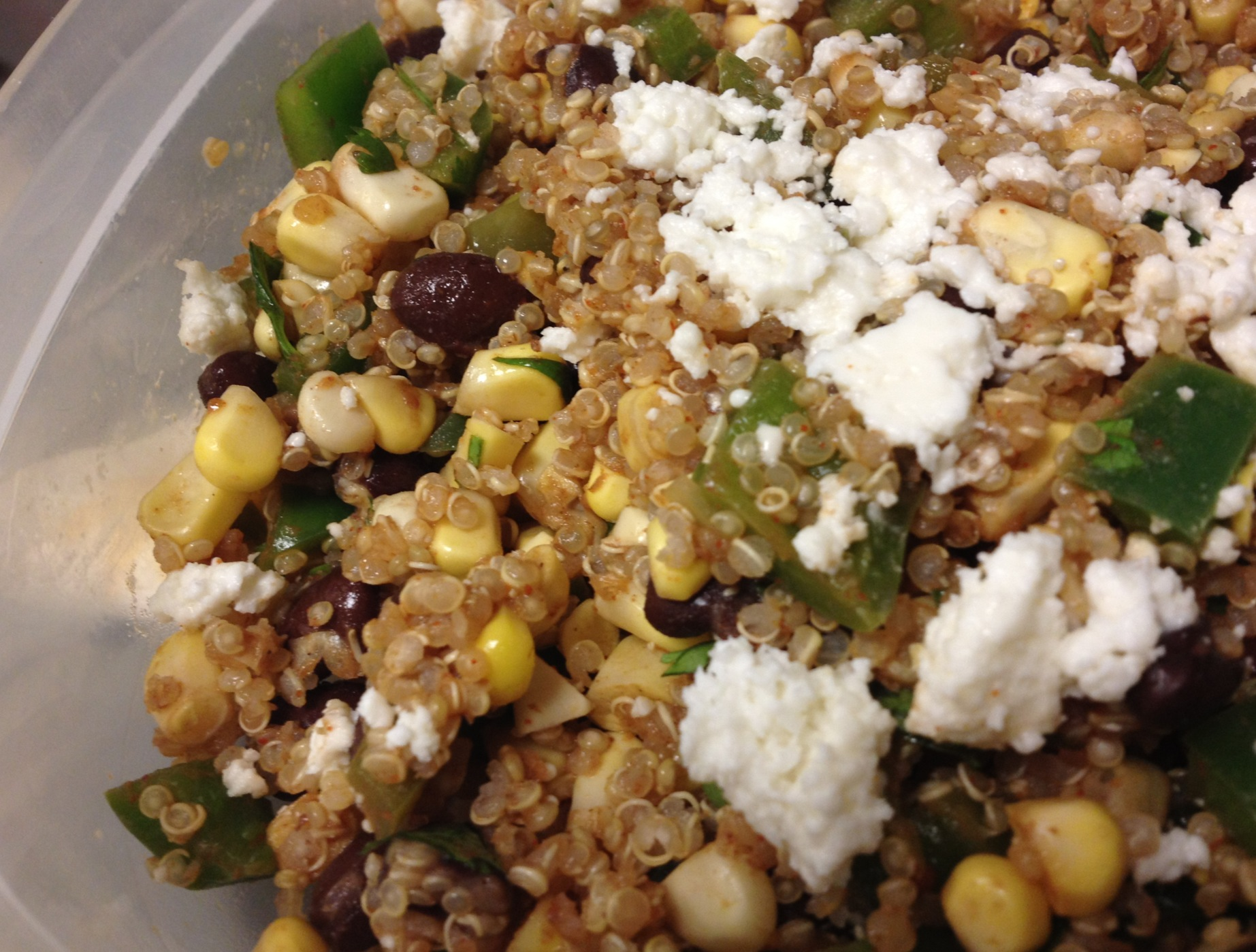 Mexican Quinoa Salad | Salt and a Smile