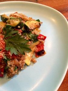 harissa quinoa